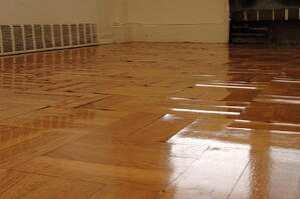 Water Damage Hardwood Floor